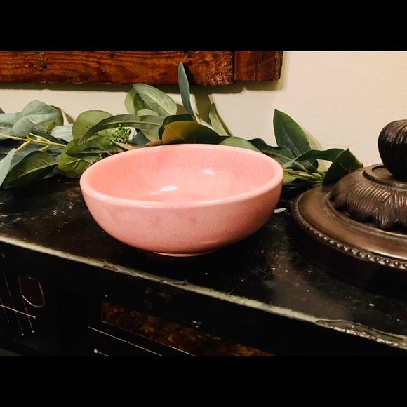 Retro Pink Authentic McCoy Vintage Bowl